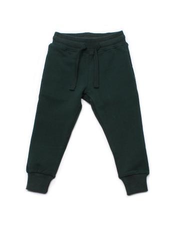 Mini Moley green Boy's Drawstring Sweatpants B1EAAKA2026388GS_1