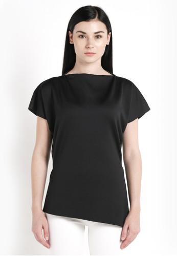 DARA black Rumi Top in Black 1EC35AAE62E512GS_1