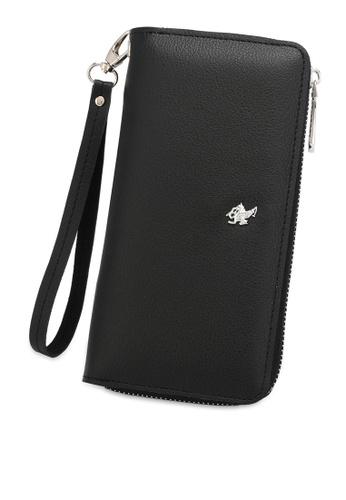 Swiss Polo 黑色 Zipper Wallet 46A93AC064EA87GS_1