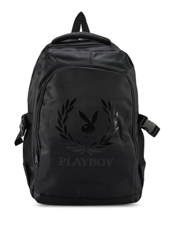 Playboy black BACKPACK E02CDAC5A948F2GS_1