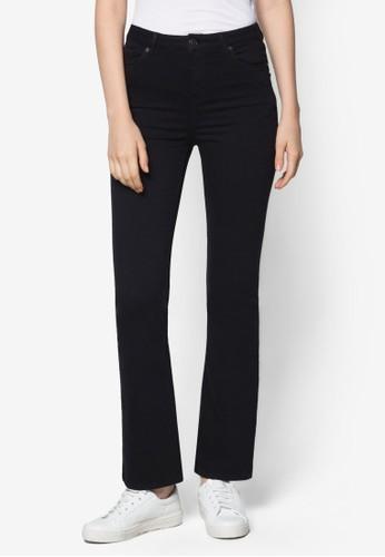 Moto 黑色 Jamie 喇叭牛仔褲L30&qutopshop hkot;, 服飾, 服飾
