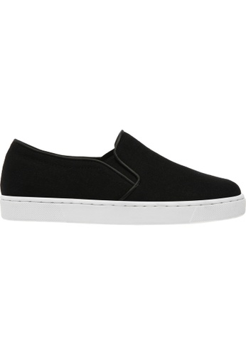 paperplanes black Paperplanes-1373 Fabric Tall Up Casual Slip-Ons Shoes US Women Size PA355SH48QADSG_1