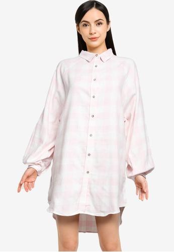Cotton On Body multi Warm Flannel Sleep Shirt Nightie 7E62BAAE4FEE3DGS_1