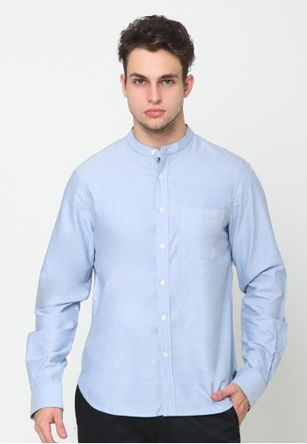 A & D blue Ms 1220  Shirt with Tie 9F149AAF3D47FCGS_1
