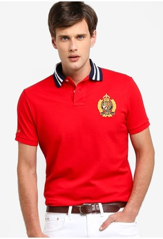 4f66176e Polo Ralph Lauren red Short Sleeve Polo Shirt F5998AA737FBA5GS_1