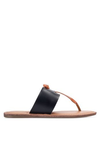 Dorothy Perkins black Black Frazer Sandals DO816SH16UUXMY_1