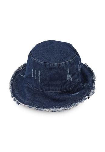 Milliot & Co. navy Amity Bucket Hat 65637AC27B6580GS_1