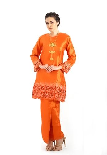 Adam.R orange Kurung Serena E6B48AAB5E145EGS_1