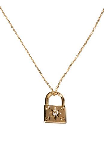 Rubi gold Premium Pendant Necklace C890EAC934F68FGS_1