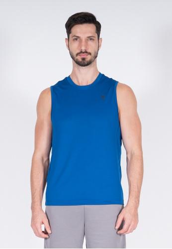 AMNIG blue Amnig Men Training Sleeveless Top (Blue) 7F2F0AA21A931FGS_1