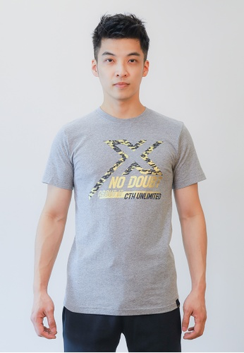 Cheetah grey CTH unlimited Short Sleeve T-Shirts - CU-90752 97C94AABBE457AGS_1
