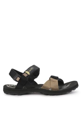 CARVIL black and multi Sandal Sponge Gunung Man Gattuso Gm 6D8FDSH64E561BGS_1