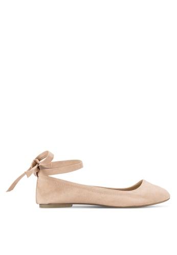 Dorothy Perkins pink Black Hallie Tie Belt Pumps DO816SH89HVQMY_1