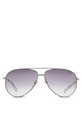 NUVEAU 鏤空細鏡腿飛行員太esprit門市地址陽眼鏡, 飾品配件, 飛行員框