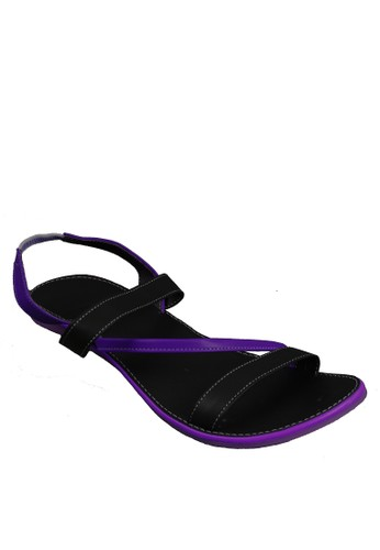 Beauty Shoes Flamingo Beauty Sandals Purple