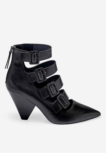ASH black Dolby - Black Strap Ankle Boots C8B28SHB3F2055GS_1