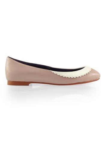 Gripz pink Collary Round Toe Ballerina Flats GR357SH0FIKNSG_1