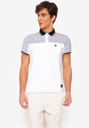 Ego multi Collared Polo Shirt Crazyline 7B55FAAB593655GS_1