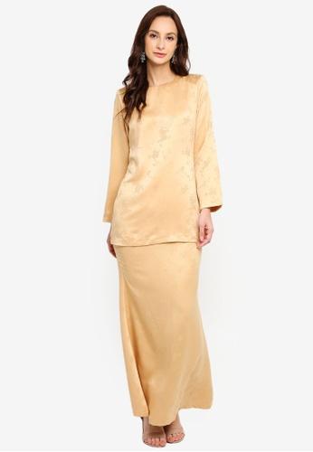 Butik Sireh Pinang yellow KURUNG MODEN FIONA A4E0FAAD2CF479GS_1