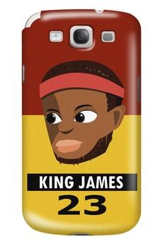 King James Matte Hard Case for Samsung Galaxy S3