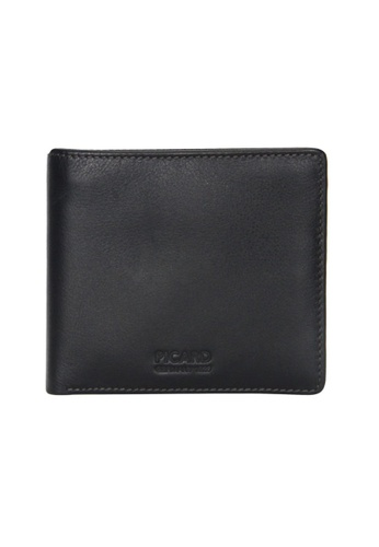 Picard black Picard Brooklyn Men's Leather Wallet With Zip Compartment 789BAACE3E9147GS_1