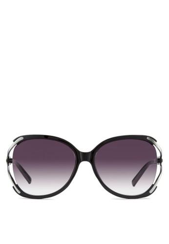 NUVEAU 金屬邊大方框太陽眼鏡, 飾品配件, esprit女裝飾品配件