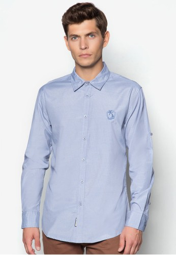Stripesprit 高雄 Long Sleeve Shirt, 服飾, 印花襯衫
