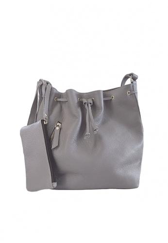Costal Leather Bags grey Stella Bucket Bag 2513DAC4B03E5DGS_1