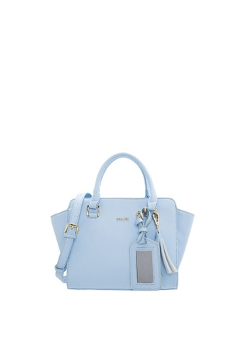 SEMBONIA blue SEMBONIA Synthetic Leather Tote Bag SE598AC31FMIMY_1