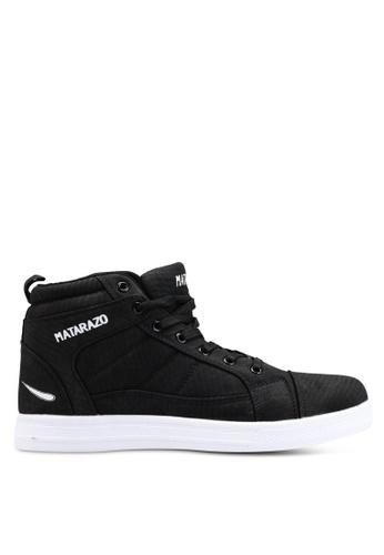 Rocklander black Matarazo Hi-Top Sneakers D75AESH2617328GS_1