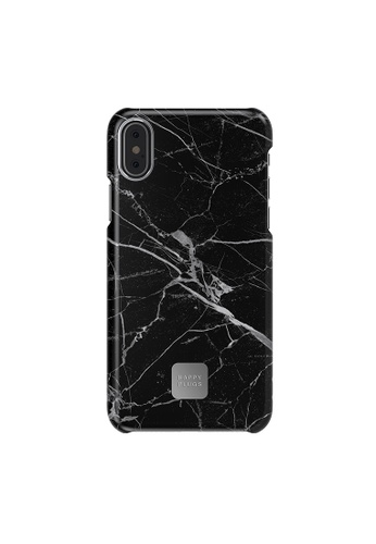 """happy plugs black Happy Plugs Slim Case for iPhone X/iPhone XS (5.8"""") - Black Marble 89EE9ACCCA11DBGS_1"""