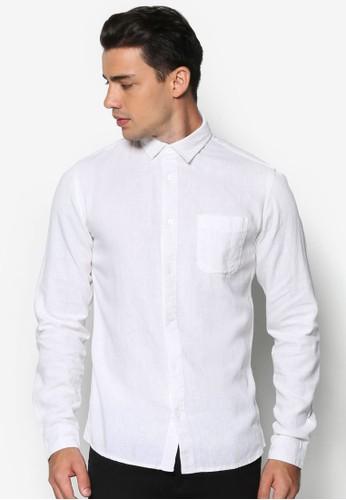 Baron 素色長袖襯衫, 服飾,esprit鞋子 襯衫