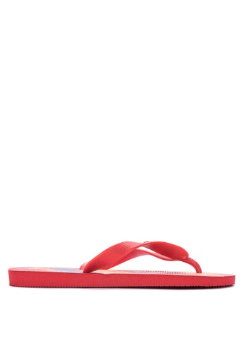 Dupe red Selecoes Spain Sandals & Flip Flops 1F1CFSH65AC530GS_1