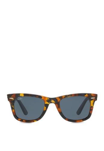 zalora 順豐Wayfarer Fleck 太陽眼鏡, 飾品配件, 飾品配件