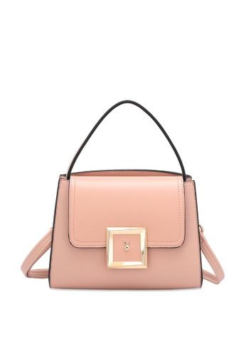 PLAYBOY BUNNY 粉紅色 Women's Sling Bag / Shoulder Bag / Crossbody Bag FAECDAC78300C3GS_1