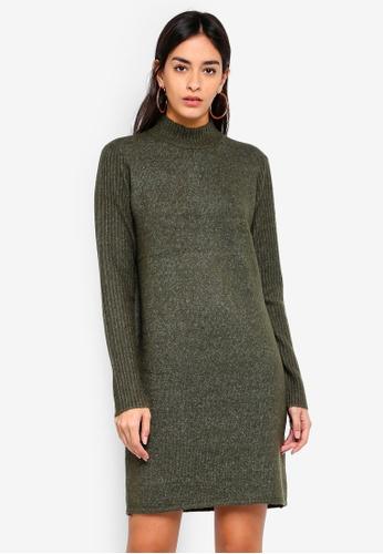 Y.A.S green Yassosa Knit Dress 613FAAAE0E6D7DGS_1