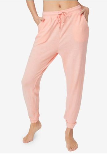 Cotton On Body pink Super Soft Slim Cuff Pants 969AAAA84B2E37GS_1