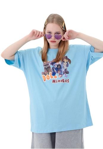 Twenty Eight Shoes Trend Doll Printed Short T-shirt HH1121 B8C55AA0BB89BCGS_1