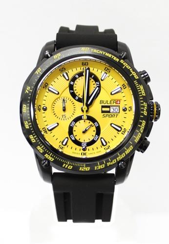 Buler black and yellow Buler Sport Watch - Yellow - gents - Date - 6H 5FED3ACE6BA699GS_1