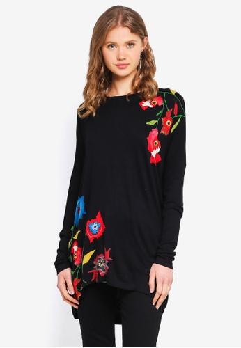 Desigual black Amsterdam T-Shirt 46F07AAC418631GS_1