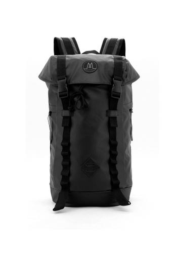 MORAL black Northside Flip Top Backpack - Matt Black CA7AEAC19D4D5DGS_1
