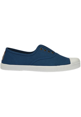paperplanes blue Paperplanes-1351 Casual Low Top Flats Canvas Sneakers Shoes US Women Size PA355SH84PNFSG_1