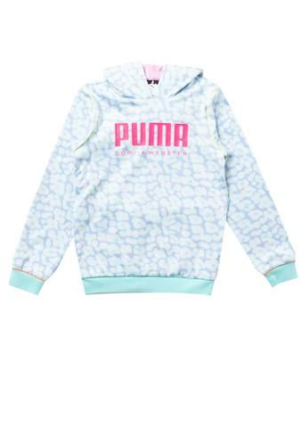 PUMA blue Puma Sportstyle Core Puma X Sophia Hoody G 3D516KA2A810B5GS_1