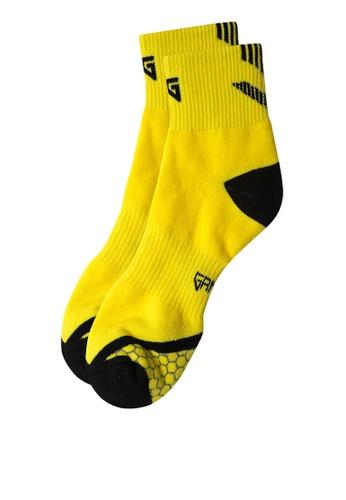 Gametime yellow Air Mid Socks GA593AC0JC6EPH_1
