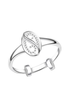 Twin Rope Oval Child's Ring