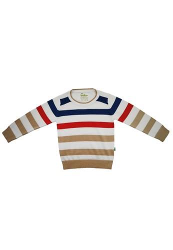 Little Bubba gold Little Bubba Boy Roller Stripe Khaki 0E74EKA5A5DA53GS_1