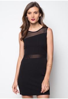 Sheer Waist Dress