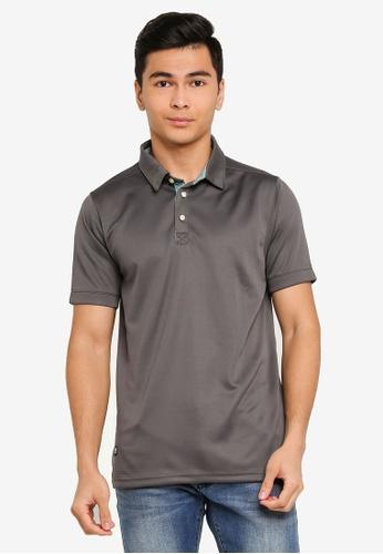 UniqTee green Loose Fit Polo Shirt 3128BAA6B90F54GS_1