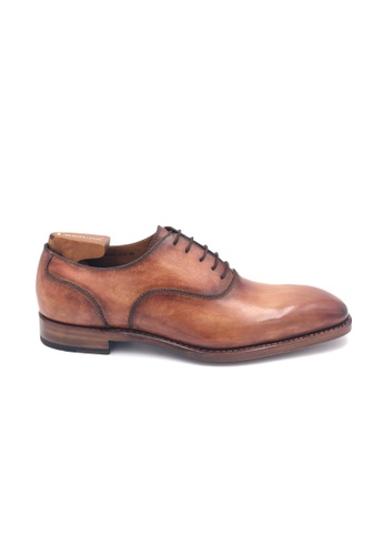 Giorostan brown and red Men Formal Oxford Shoes C77EBSH53C78B1GS_1