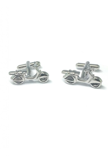 Splice Cufflinks silver Silver Scooter Cufflinks   SP744AC79DSQSG_1